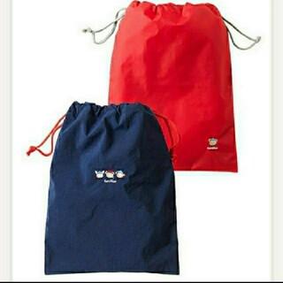 familiar - ファミリア 便利な巾着袋2枚セット 新品