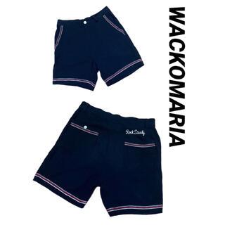 WACKO MARIA - ワコマリア WACKOMARIA ハーフパンツ ショートパンツ 美品 ブラック