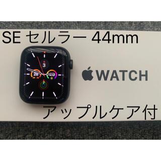 Apple Watch - Apple Watch SE セルラーモデル AppleCare+付 44mm