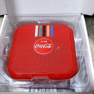 コカコーラ(コカ・コーラ)のコカ・コーラ 防水スピーカー【非売品】(スピーカー)