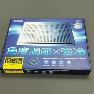 エレコム(ELECOM)の【新品・未使用】ノートPCクーラー ELECOM SX-CL22LSV(PC周辺機器)