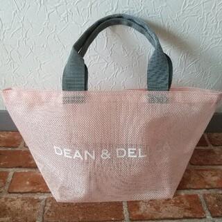 DEAN & DELUCA - 2021 7/1 DEAN & DELUCA メッシュトートバッグ S ピンク