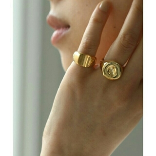 """TODAYFUL - 【美品】TODAYFUL """"Seal Ring"""" ピンキーリング指輪アクセサリー"""