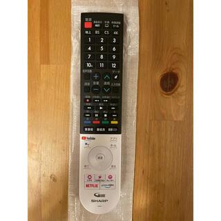 SHARP - シャープ TVリモコン 新品未使用