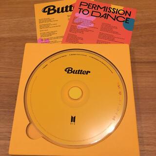防弾少年団(BTS) - BTS  Butter cream ver CD、歌詞カード