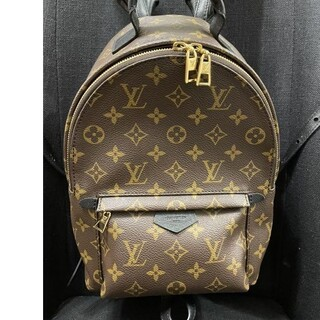 LOUIS VUITTON - ルイヴィトン パームスプリングス バックパックPM