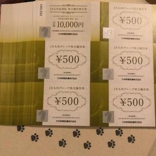 2万円分 JR九州グループ株主優待券