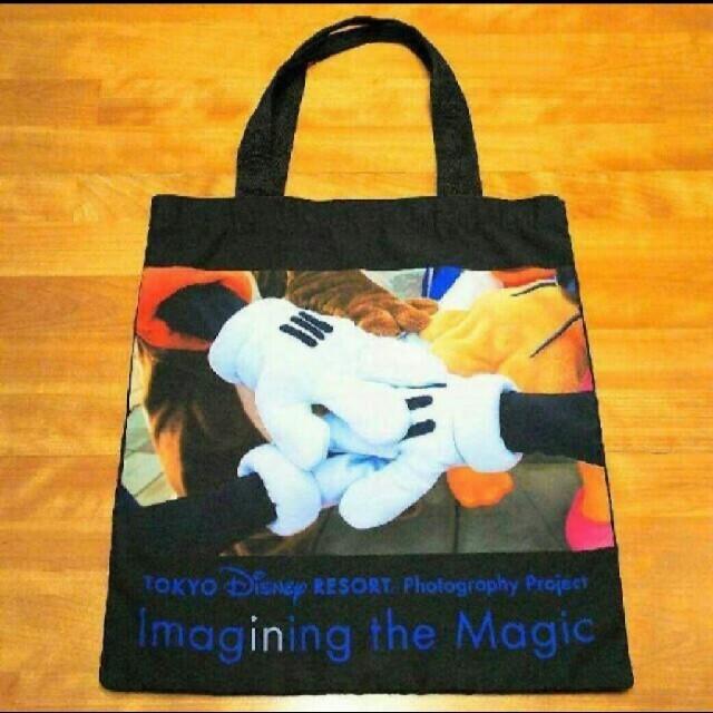 Disney(ディズニー)のイマジニングザマジック スペシャルグッズ 実写 布 トート レディースのバッグ(トートバッグ)の商品写真