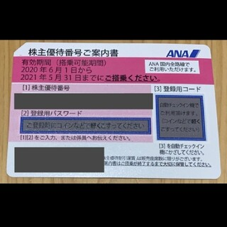 エーエヌエー(ゼンニッポンクウユ)(ANA(全日本空輸))のANA株主優待券 1枚(その他)