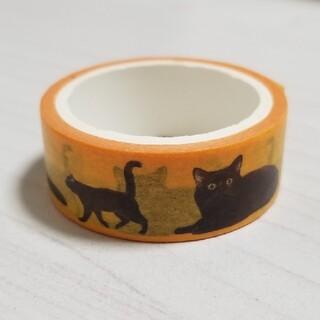 クロネコヤマト 黒猫 マスキングテープ LOFT コラボ レア(テープ/マスキングテープ)