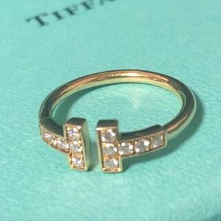 Tiffany & Co. - 極美品!TIFFANY ティファニー ダイヤモンドリング K18
