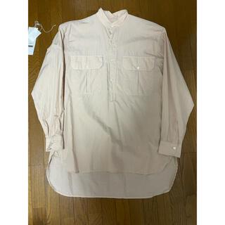 COMOLI - コモリ ベタシャンカーゴシャツ