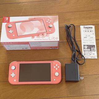 Nintendo Switch - 【美品】NintendoSwitchLightコーラルピンク