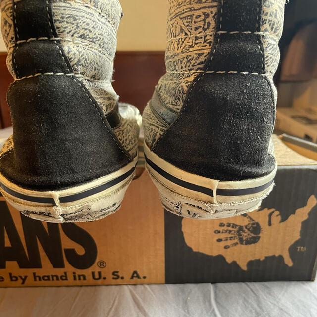 VANS(ヴァンズ)の11 VANS 80s Made in USA sk8 hi top Fish メンズの靴/シューズ(スニーカー)の商品写真