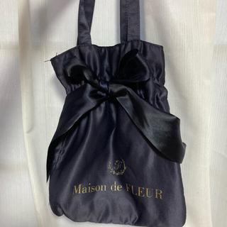 メゾンドフルール(Maison de FLEUR)の専用!8月末まで☆メゾンドフルールサテンバッグとチェックスカート(ハンドバッグ)