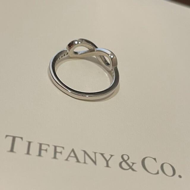Tiffany & Co.(ティファニー)のTiffany インフィニティリング プラチナ ダイヤ 11号 レディースのアクセサリー(リング(指輪))の商品写真