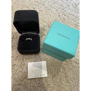 Tiffany & Co. - Tiffany インフィニティリング プラチナ ダイヤ 11号