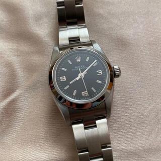 ROLEX - ロレックス 76080 オイスターパーペチュアル 自動巻き 腕時計 レディース