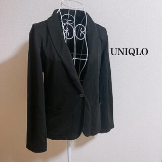ユニクロ(UNIQLO)のジャージージャケット(テーラードジャケット)