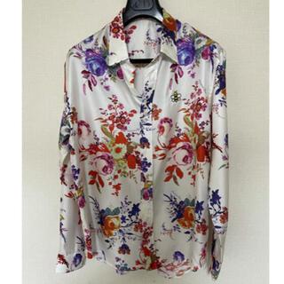 Dior ディオール × KAWS カウズ 19SS フラワー シルク シャツ