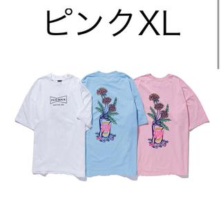 フジロック VERDY Tシャツ ピンク XL
