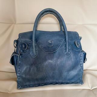 GRACE CONTINENTAL - grace continental カーヴィング carvingbag ブルー