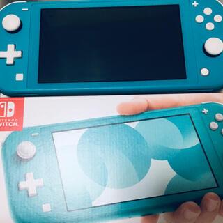 Nintendo Switch - switch  lite ターコイズ 中古
