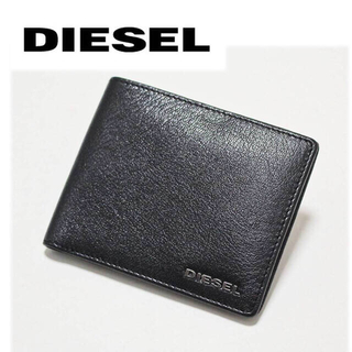 ディーゼル(DIESEL)の《ディーゼル》新品 羊革 レザー二つ折り財布 ギフトBOX付き プレゼントにも(折り財布)