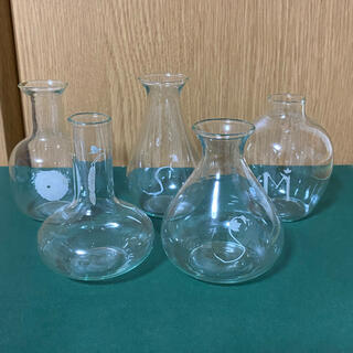 FELISSIMO - フェリシモ ミニフラスコ 5点セット 一輪挿し 花瓶