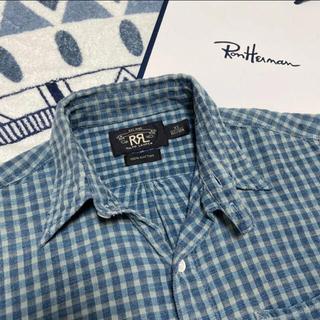 RRL - 少量生産★RRL★インディゴ チェックシャツ ロンハーマン RHC