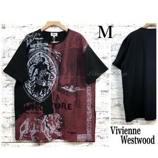 Vivienne Westwood - 【未使用】ヴィヴィアン Tシャツ 黒 44 NEW PUNKATURE