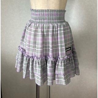 中古 CRANK 夏向き 2段フリル スカート