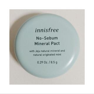 Innisfree - 【新品】イニスフリー ノーセバム ミネラルパクト 8.5g