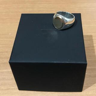 ロンハーマン(Ron Herman)のTom Wood シグネットリング ユニセックス OVAL GOLD g50(リング(指輪))