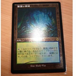 マジックザギャザリング(マジック:ザ・ギャザリング)のMTG MH2 霧深い雨林 エッチング FOIL 日本語版(シングルカード)