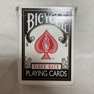 U.S.プレイングカード バイシクルトランプ ライダーバック 黒(トランプ/UNO)