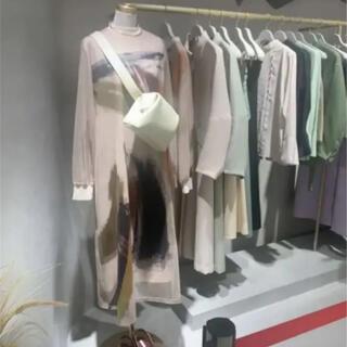 Ameri VINTAGE - 完売☆Ameriアメリ LOUISE ART DRESS