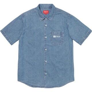 Supreme - 新品■20SS Supreme Invert Denim S/S Shirt