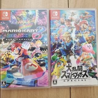 Nintendo Switch - 【ケースのみ】マリオカート、スマブラ