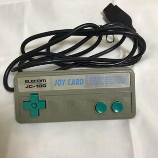 エレコム(ELECOM)のジャンク品 joy card  jc 100   エレコム コントローラー(PC周辺機器)