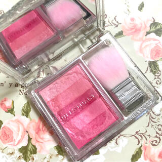 JILLSTUART - 人気色♡ ジル ブルーミングデュー オイルインブラッシュ 01 ピンク ローズ
