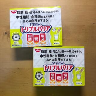 ニッシンショクヒン(日清食品)のトリプルバリア 青リンゴ味 30本入り(ダイエット食品)