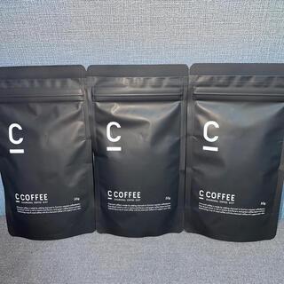 C COFFEE  チャコールコーヒー ダイエット 3点セット(ダイエット食品)