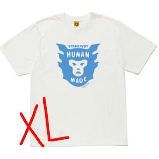 A BATHING APE - HUMAN MADE FACE LOGO T-SHIRT  Tシャツ