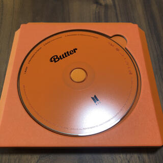BTS butter CD permission to dance peach