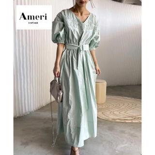 Ameri VINTAGE - 完売商品【AMERI Vintage】VOLUME SLEEVE DRESS