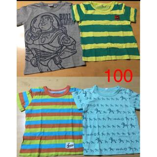 ニシマツヤ(西松屋)のused⭐︎100西松屋Tシャツ4枚セット(Tシャツ/カットソー)