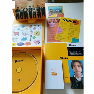 防弾少年団(BTS) - BTS butterアルバム Creamバージョン JIN ジン