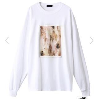 Ameri VINTAGE - アブストラクトプリントロングTシャツ メゾンスペシャル