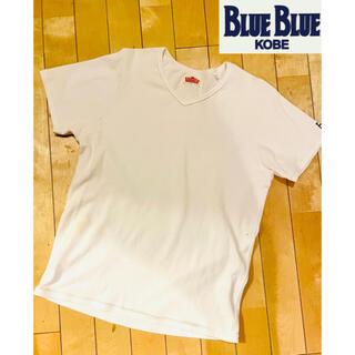 HOLLYWOOD RANCH MARKET - ハリウッドランチマーケット Tシャツ BlueBlue神戸店で購入 シミ有り。